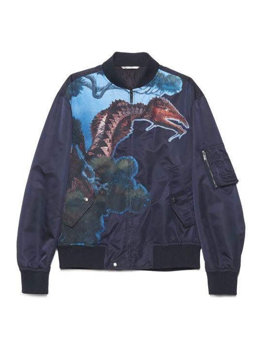 Valentino 'dragons Garden' Bomber Jacket