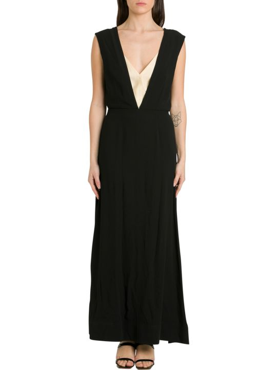 Colville Sleeveless Long Dress With Double Shoulder Straps