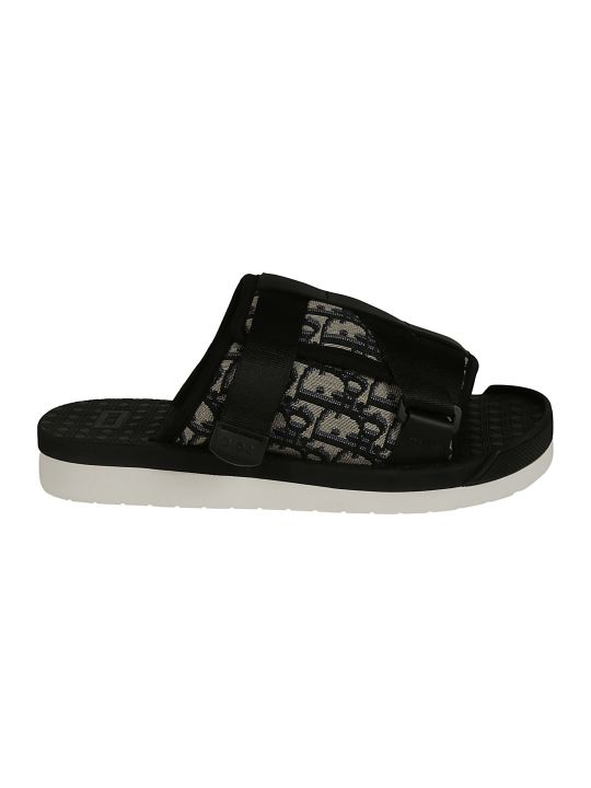 Christian Dior Double Strap Sliders