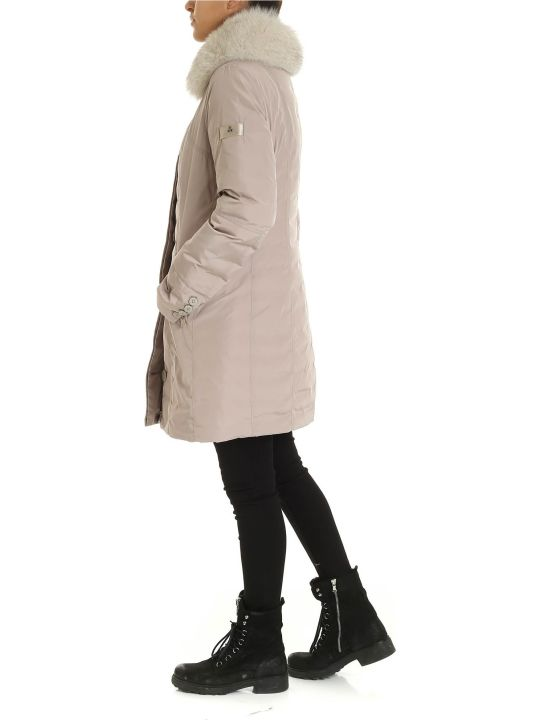 Peuterey Metropolitan Jacket In Taffeta Beige Color