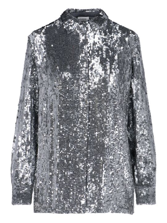 Parosh Sequined Shirt