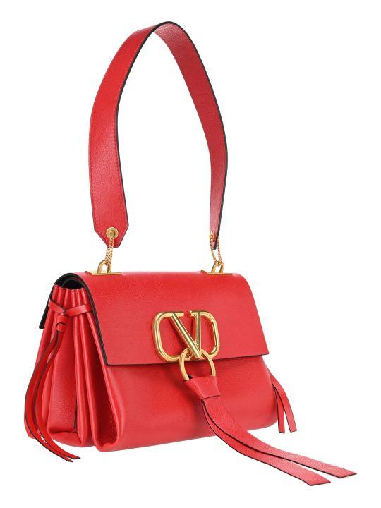 Valentino Medium V-ring Shoulder Bag