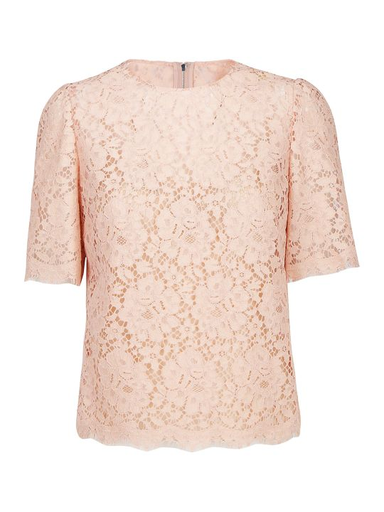 Dolce & Gabbana Cordonetto Lace Top