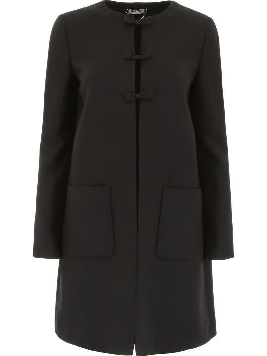 Miu Miu Coat With Bows
