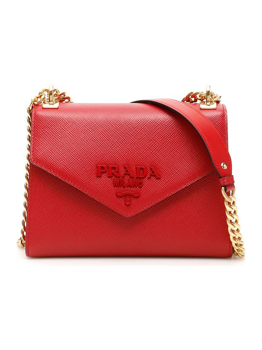 Prada Leather Monochrome Bag