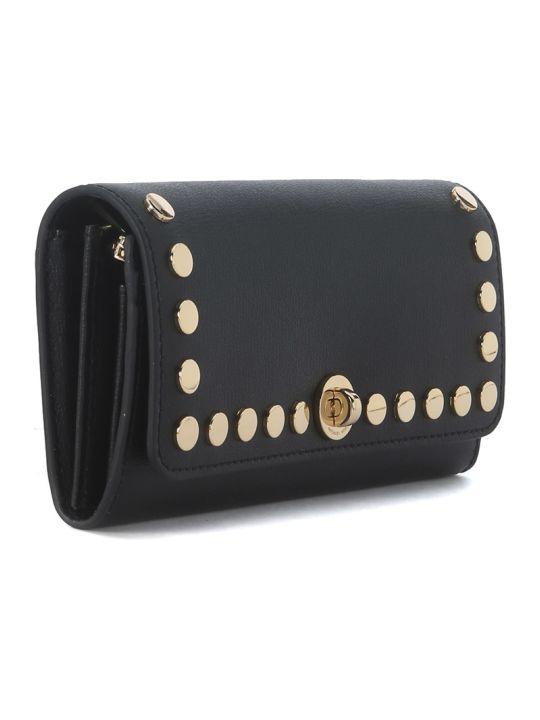 3434816d68db Michael Kors Michael Kors Rivington Black Leather Wallet With Studs - NERO  - 8934875 | italist