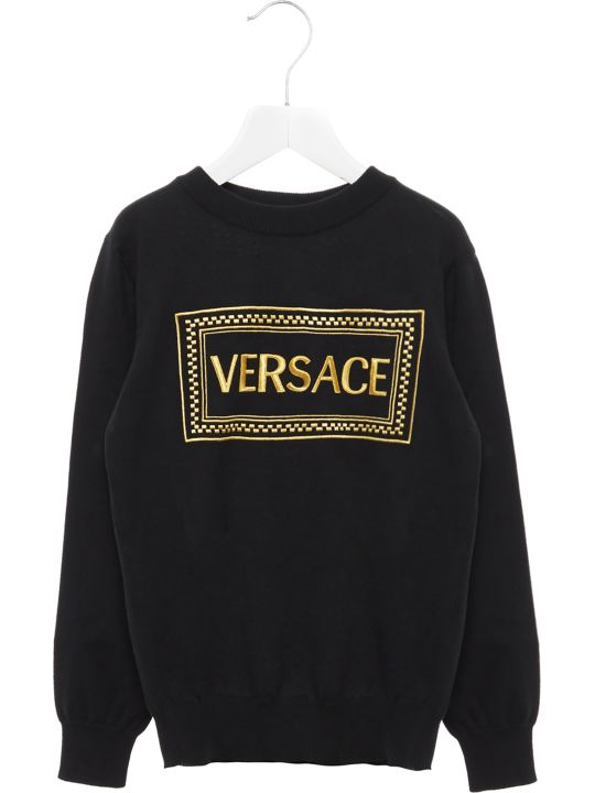Young Versace 'medusa' Sweater