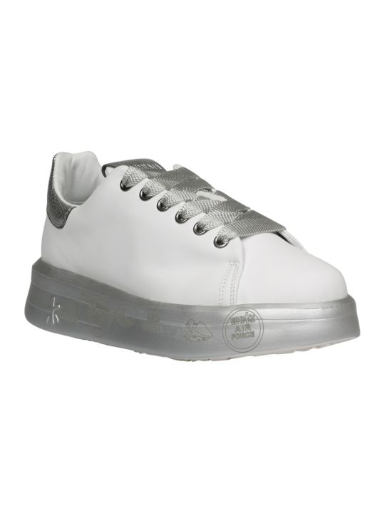Premiata Belle Leather Sneakers