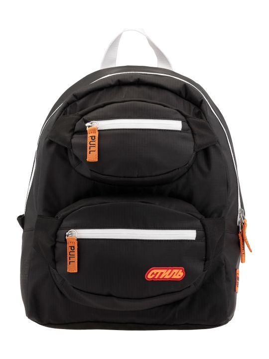 HERON PRESTON Double Fanny Backpack