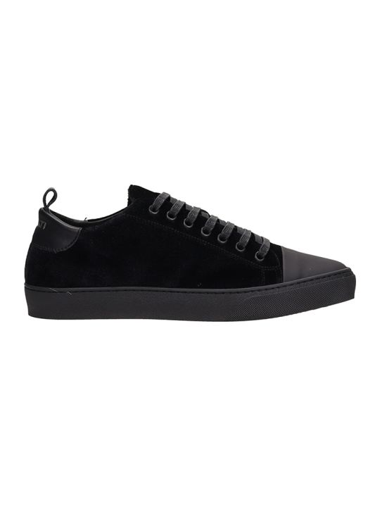 Ylati Footwear Sorrento Black Velour