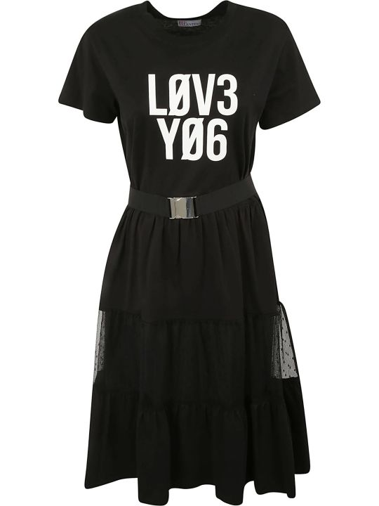 RED Valentino Love You Belted Dress