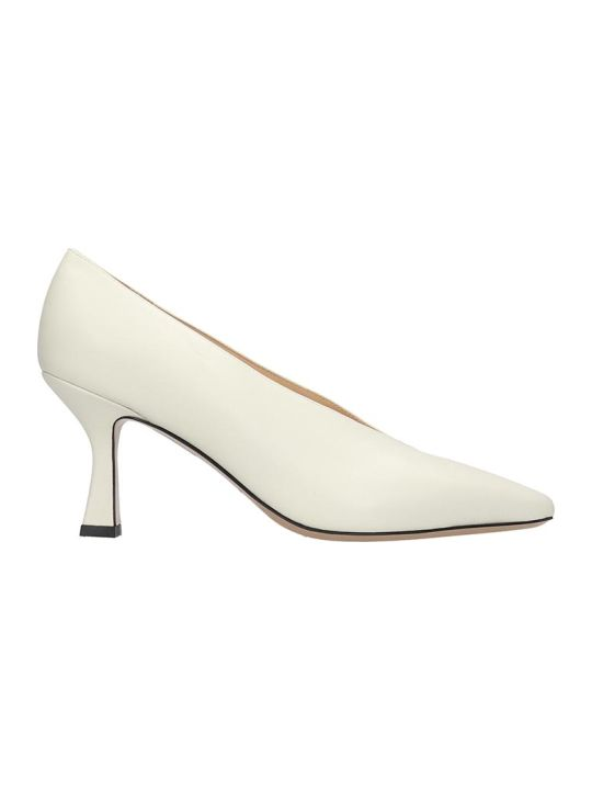 Fabio Rusconi Pumps In White Leather
