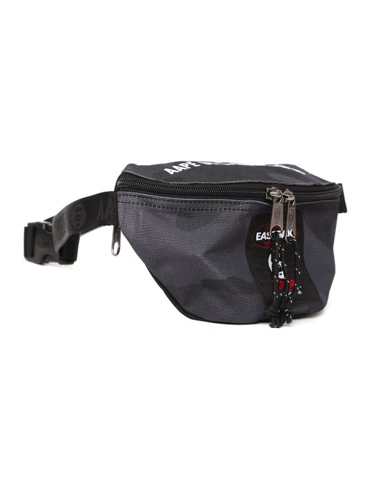 Eastpak Grey Camou Printed Fabric Beltbag
