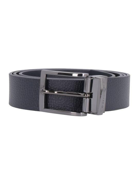 Emporio Armani Reversible Leather Belt