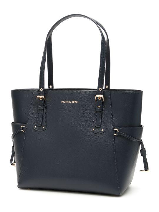 MICHAEL Michael Kors Voyager Leather Tote Bag