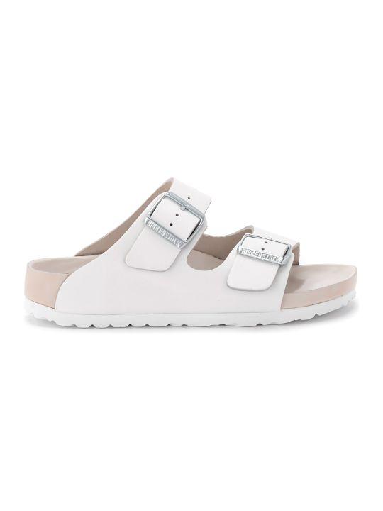 Birkenstock Monterey White Leather Sandal