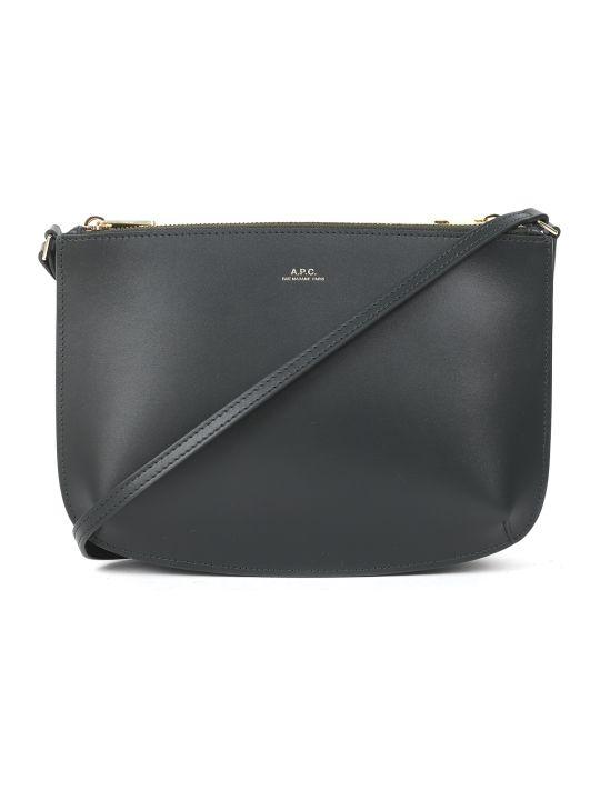 A.P.C. Green Sarah Bag
