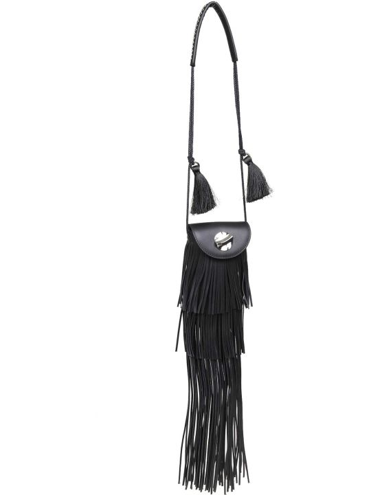 3.1 Phillip Lim Phillip Lim Lola Shoulder Bag In Black Leather