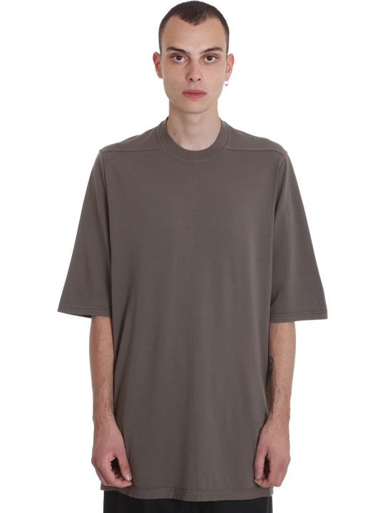 DRKSHDW Jumbo Tee T-shirt In Drk Dust Cotton