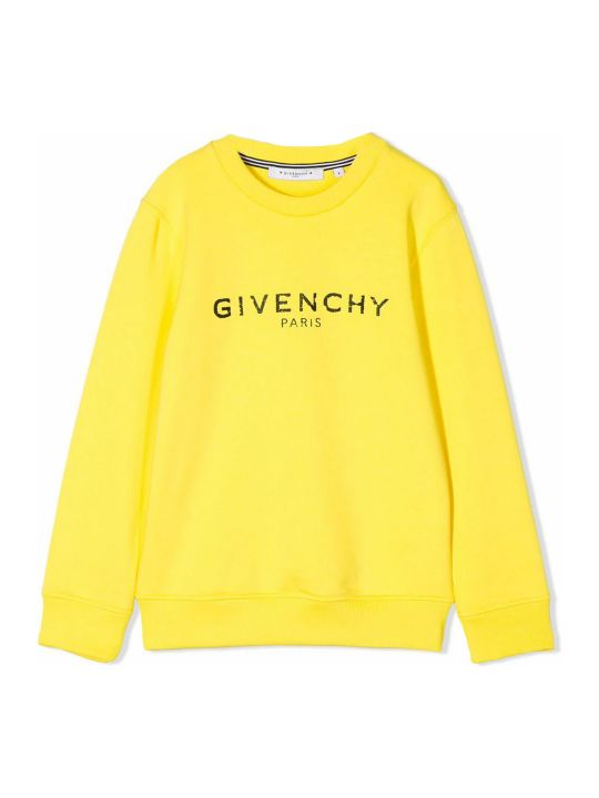 Givenchy Yellow Cotton Sweatshirt