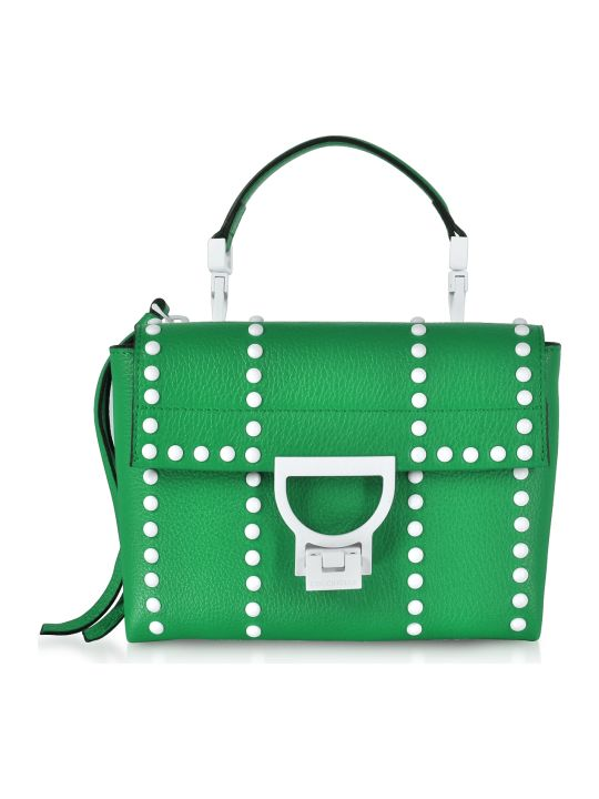 Coccinelle Arlettis Mini Special Studs Leather Shoulder Bag