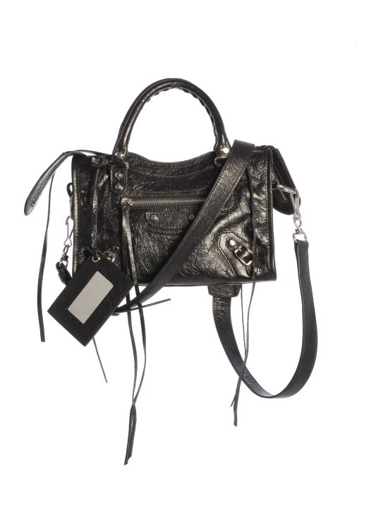 Balenciaga Leather Class Mini City Aj Shoulder Bag