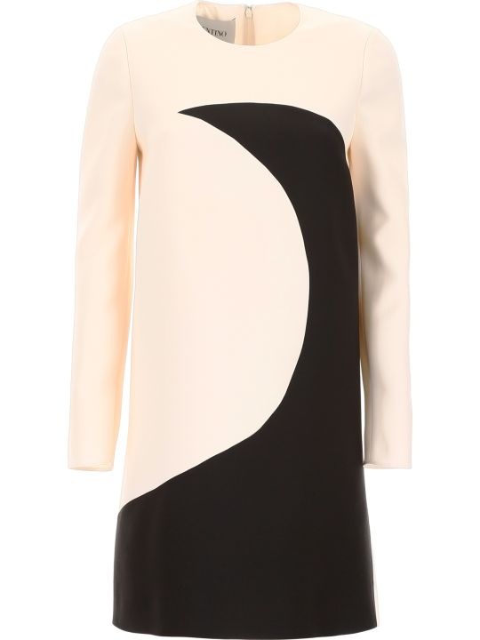 Valentino Dress With Moon Intarsia