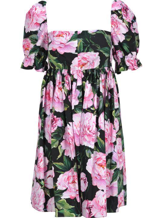 Dolce & Gabbana Dolce&gabbana Short Dress Peonie