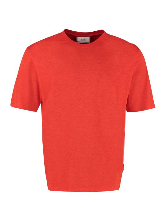 Ami Alexandre Mattiussi Slub Jersey T-shirt