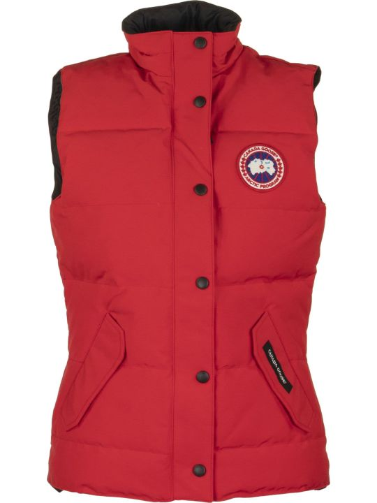 Canada Goose Freestyle Vest Red Gilet