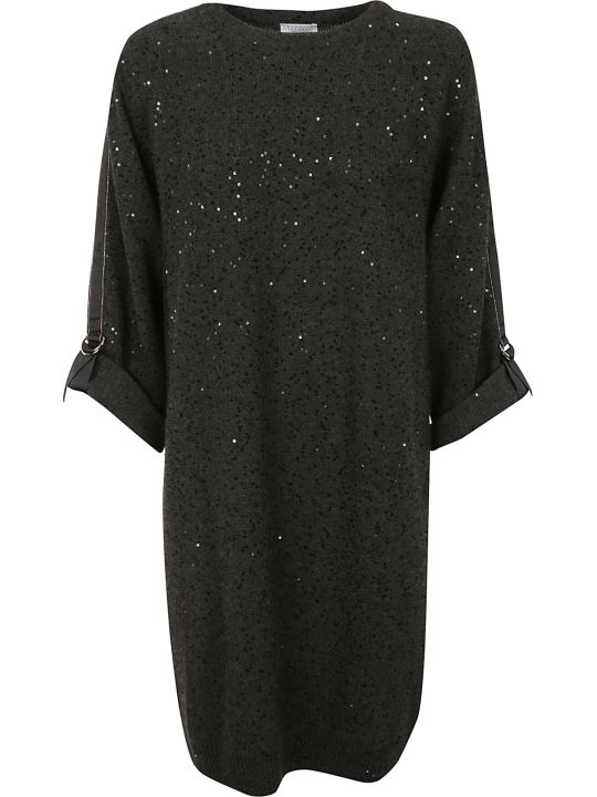 Brunello Cucinelli Embellished Dress