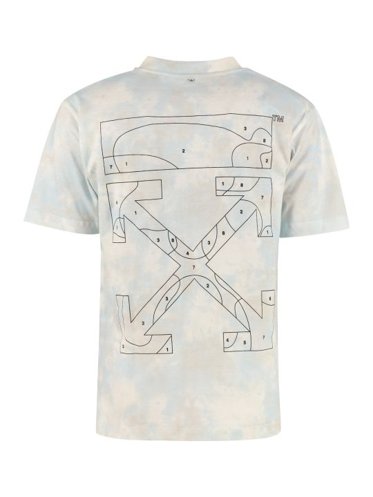 Off-White Arrow Print Cotton T-shirt