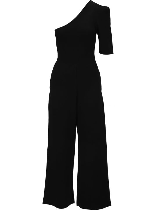 Stella McCartney One-shoulder Tailored Jumpsuit
