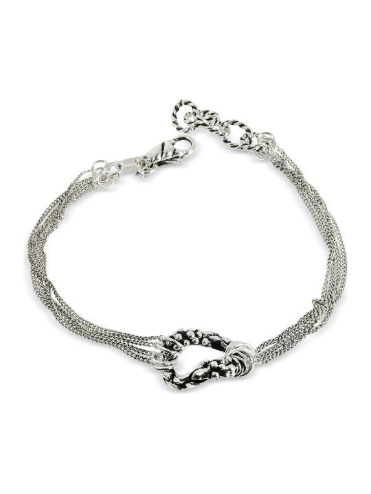 GIACOMOBURRONI Giacomo Burroni Multi Chain Bracelet W/ring