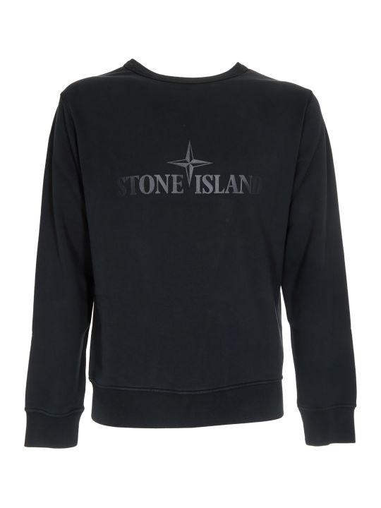 Stone Island Logo Print Sweater