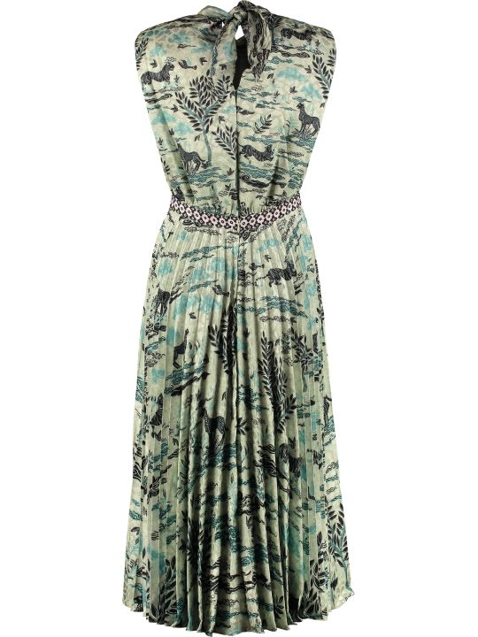 Saloni Fleur-e Printed Dress