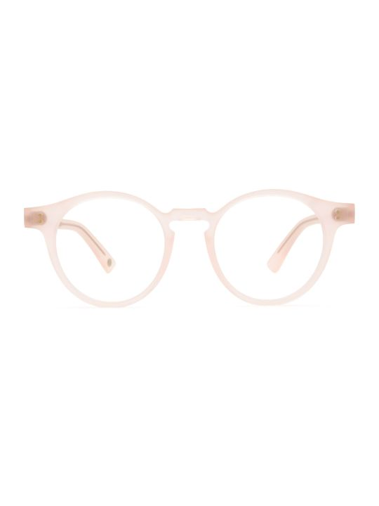 AHLEM Ahlem Rue Charlot Optic Brushed Pink Glasses