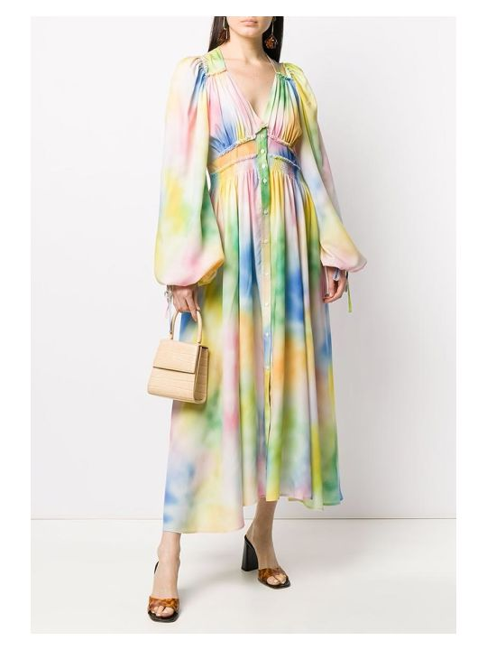 The Attico Dress In Multicolor Polyester