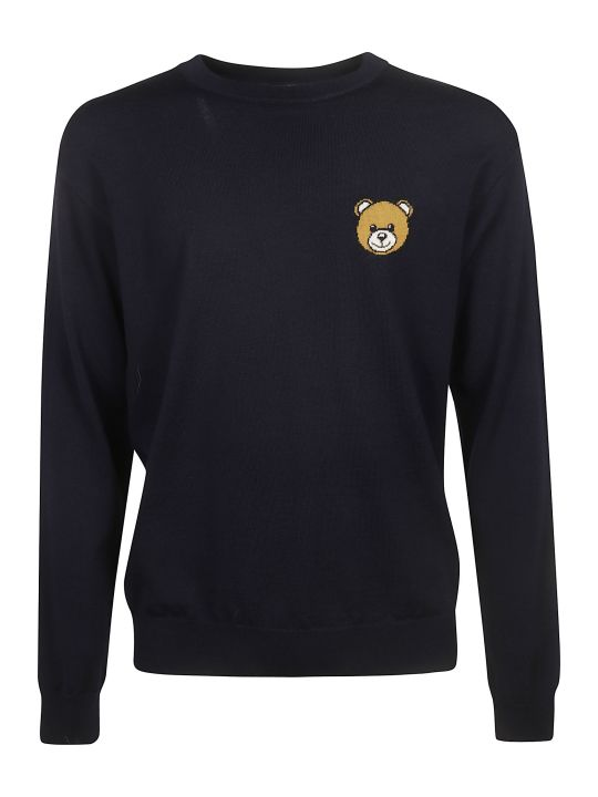 Moschino Teddy Bear Patch Sweater