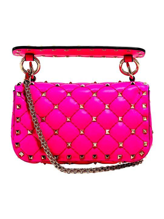 Valentino Garavani Mini Rockstud Spike Shoulder Bag
