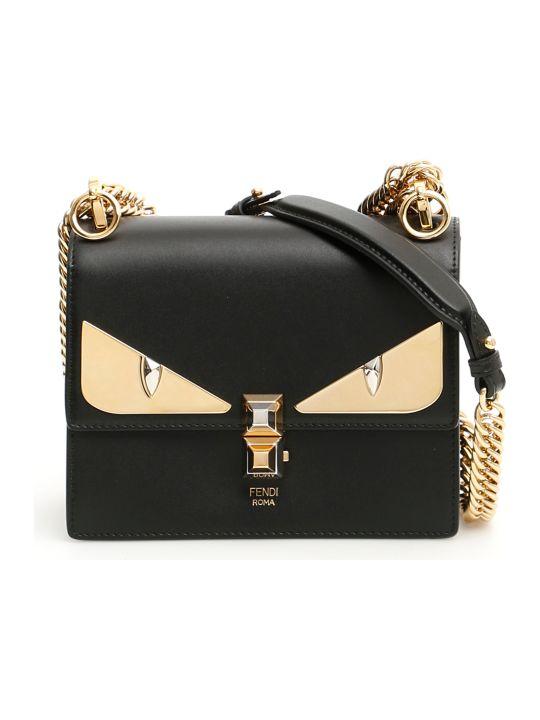 Fendi Small Kan I Bag With Bag Bugs Eyes