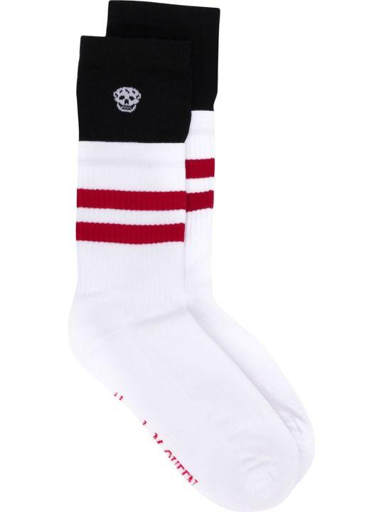 Alexander McQueen Socks Trompe D Oeil