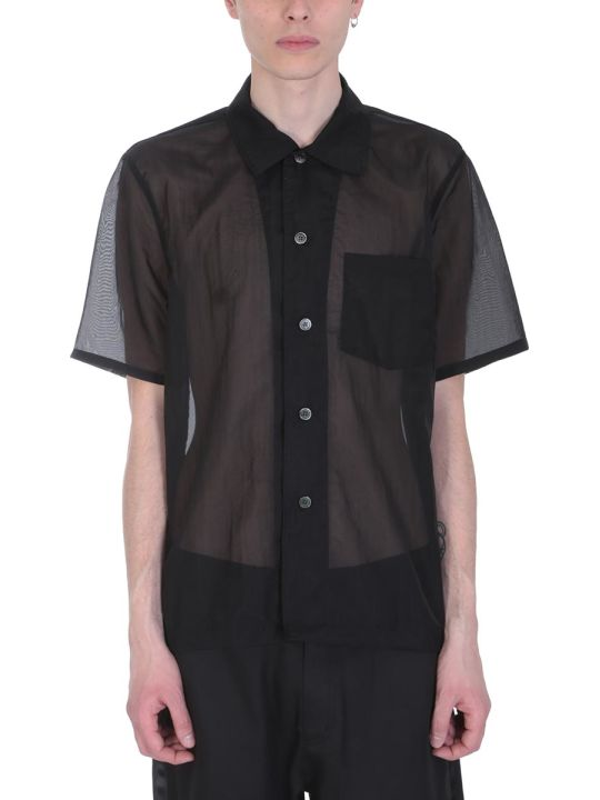 Our Legacy Box Black Nylon Shirt