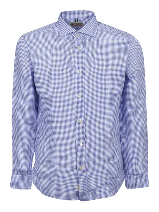 Luigi Borrelli Checked Print Shirt