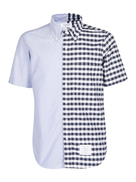 Thom Browne Bicolor Oxford Shirt