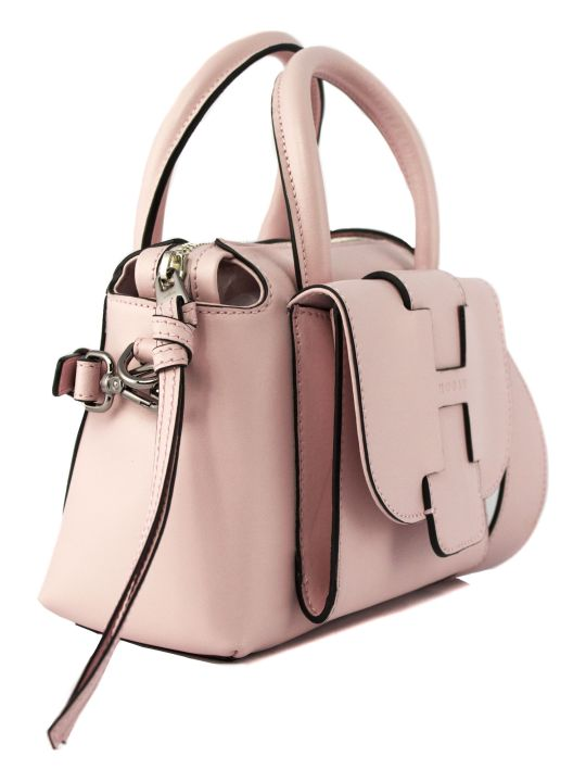 Hogan Pink Leather Bag