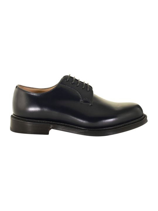 Church's Shannon Navy Lace-up Derby Shoes