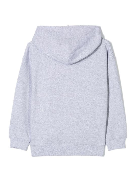 Moschino Light Grey Cotton Hoodie
