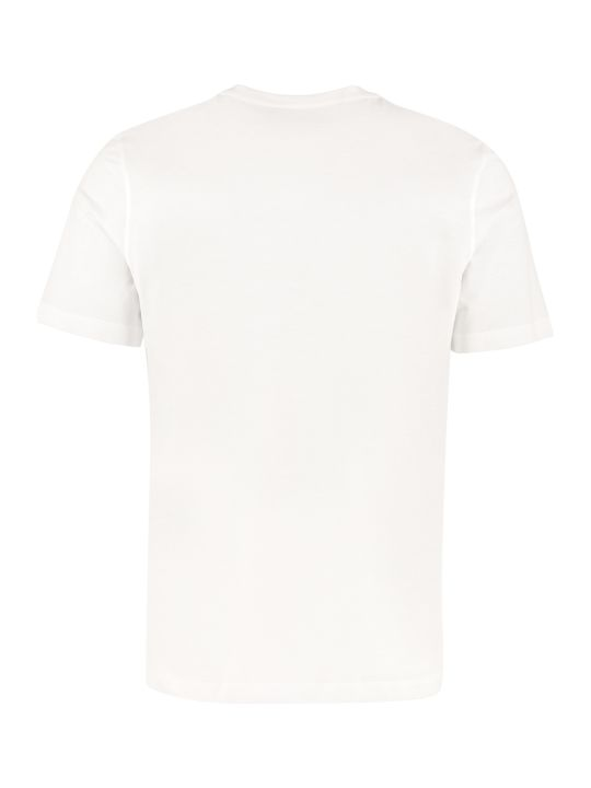 Salvatore Ferragamo Printed Cotton T-shirt