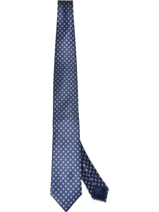 Brioni Floral Print Tie